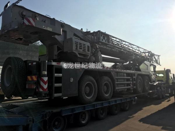 重型设备运到香港